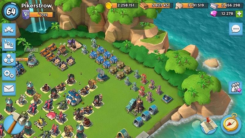 Boom Beach Base
