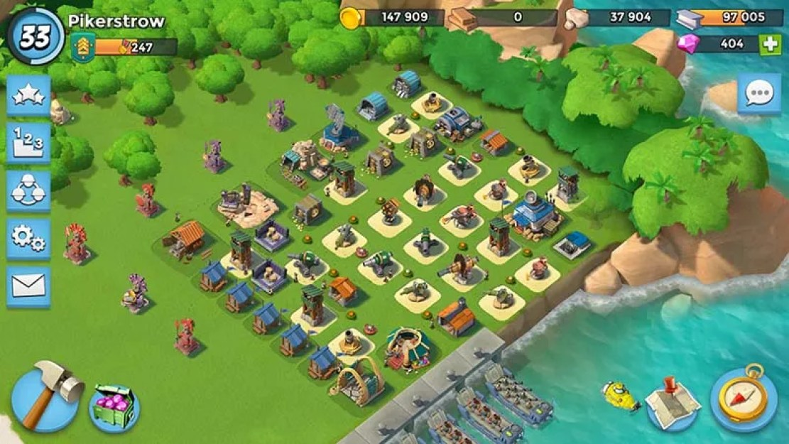 Beach great defense HQ 14