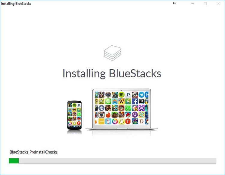 BlueStack installing
