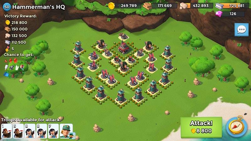 Hammerman 50 base