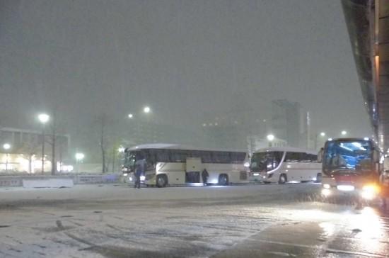 大雪の京都