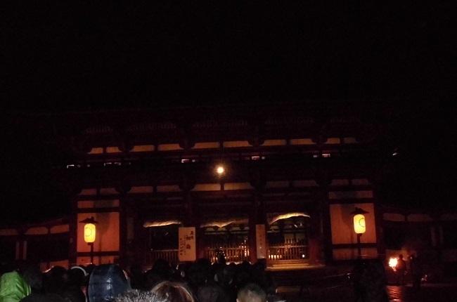 東大寺で年越し(2014年~2015年)