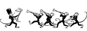猿の音楽隊