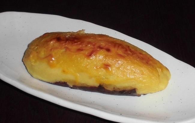 美味しそうなスイートポテト …窯焼ポテト(かわいや)