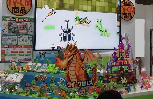 メガハウスブース …「東京おもちゃショー2016」より