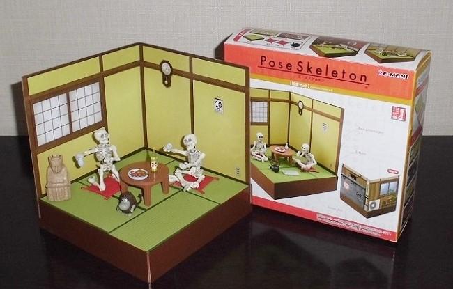 ポーズスケルトン「和室の部屋セット」