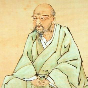 「伊藤若冲像」※public domain