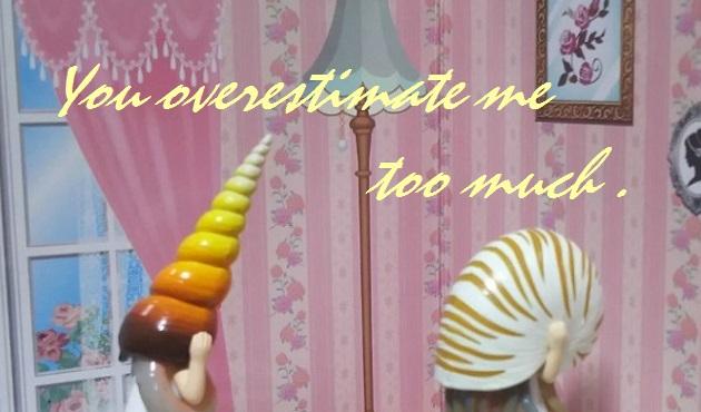 カイカブリ(You overestimate me too much.)