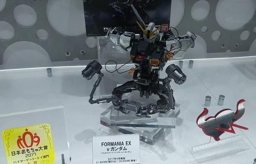 「FORMANIA EX v(ニュー)ガンダム」…日本おもちゃ大賞