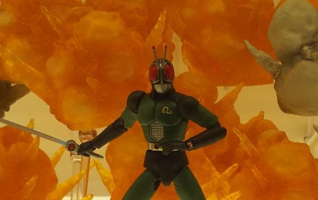 仮面ライダーRX …秋葉原で見かけたバンダイのヒーロー達