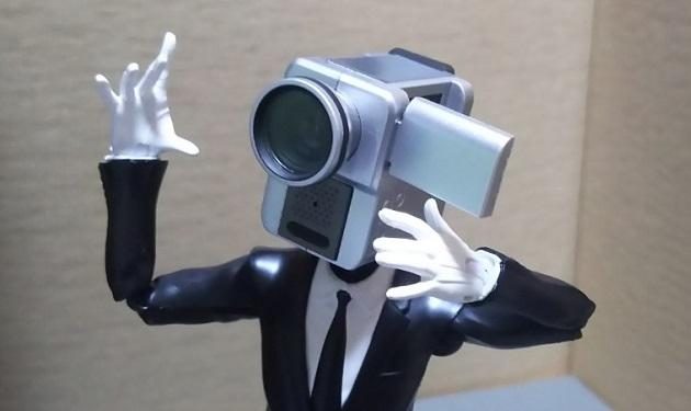 NO MORE 映画泥棒 カメラ男(S.H.Figuarts)