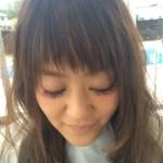 短め前髪〜眉上斜めバングの流行スタイリング方法