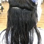 自然なカール感のある縮毛矯正、ストカールのビフォーアフター!