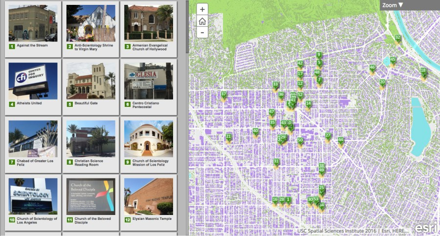 Click here to explore the religious landscape of Los Feliz.