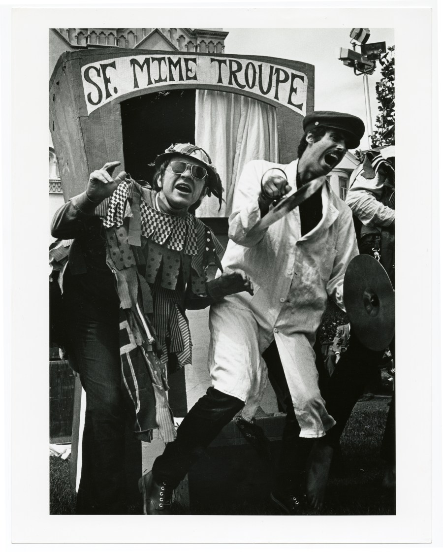 Untitled [S.F. Mime Troupe] circa 1966