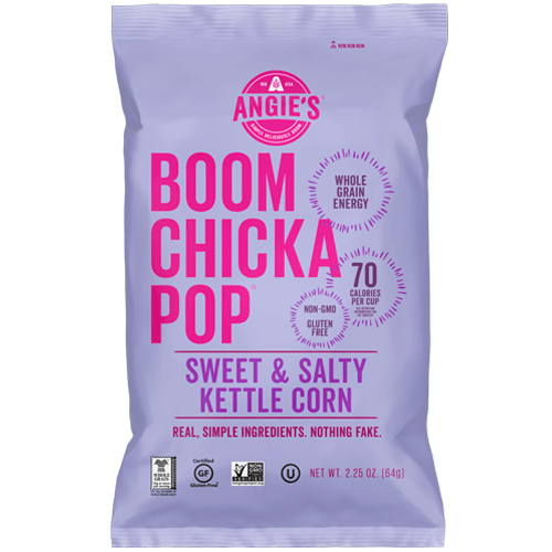 sweet and salty kettle corn popcorn