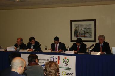 Inauguración de la I Semana Impulso TIC 2011 en el Auditorio Príncipe Felipe de Oviedo
