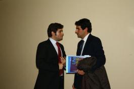Agradecimiento a los ponentes de la mesa de Inauguración de la I Semana Impulso TIC 2011 en el Auditorio Príncipe Felipe de Oviedo