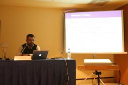 Ricardo Baeza de Yahoo en su presentación en la Inauguración de la I Semana Impulso TIC 2011 en el Auditorio Príncipe Felipe de Oviedo