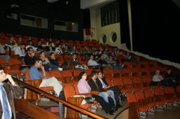 """Mesa redonda """"La industria del Videojuego"""" en la I Semana Impulso TIC 2011 en la Universidad Laboral de Gijón"""
