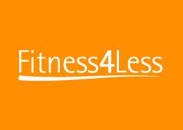 gym advertising fitness4less logo
