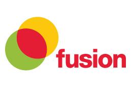 Leisure Centre advertising Fusion Logo