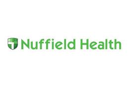gym advertising nuffield health logo
