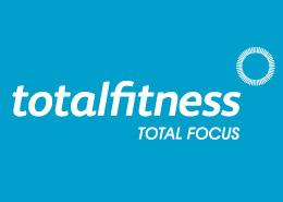 gym advertising total fitness logo