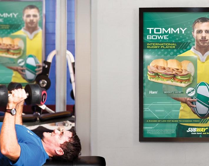 Subway D6 in health club