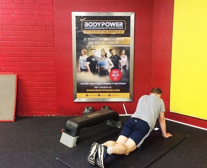 BodyPower 6-sheet Gym