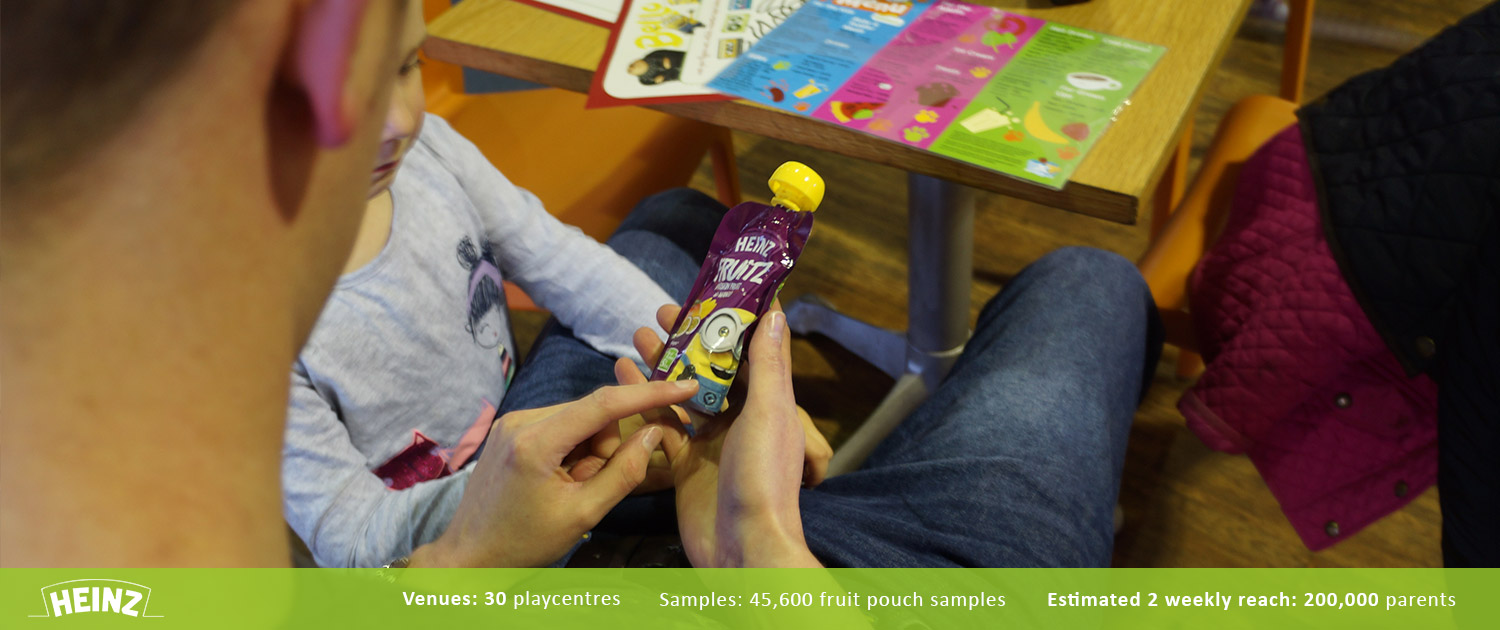 Heinz Family Playcentre Product Sampling