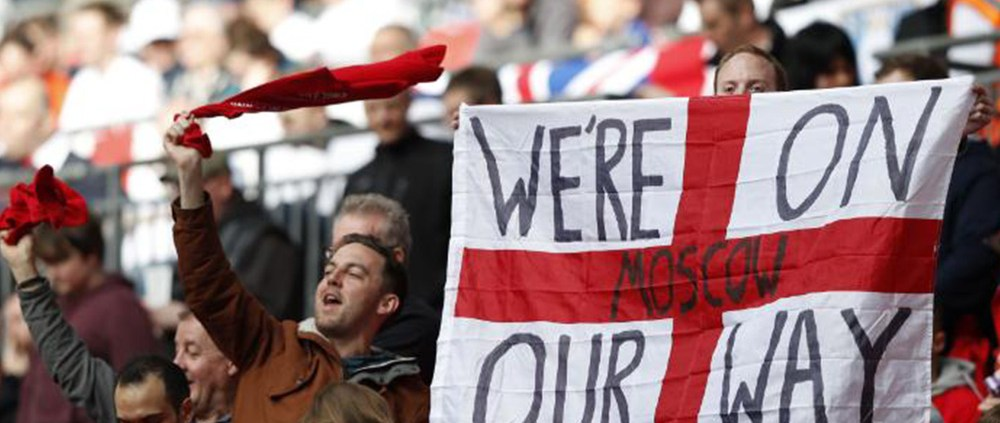 England World Cup Fans