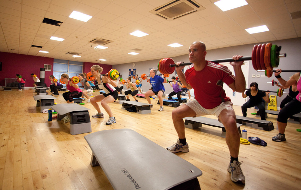 National fitness day leisure centre