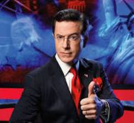 One out. Stephen Colbert. I miss him already.