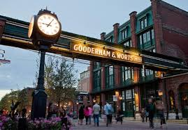 The Distillery District reborn. Well done, Toronto.
