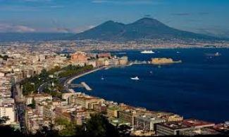 Naples exists in the shadow of volatile Mount Vesuvius.