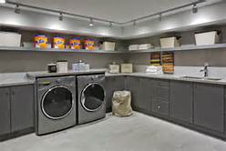 Why oh why do they always put the laundry room in the basement. So wrong.