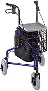 Types Of Walkers - Three Wheel Rollators For Seniors