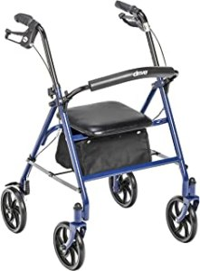 Drive Medical Four Wheel Walker Rollator