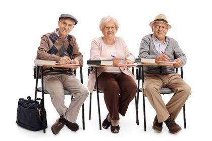 Seniors Going Back To School