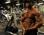 bodybuilder in gym