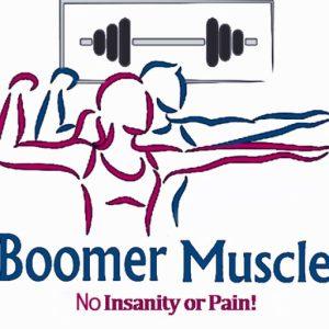 boomer logo white