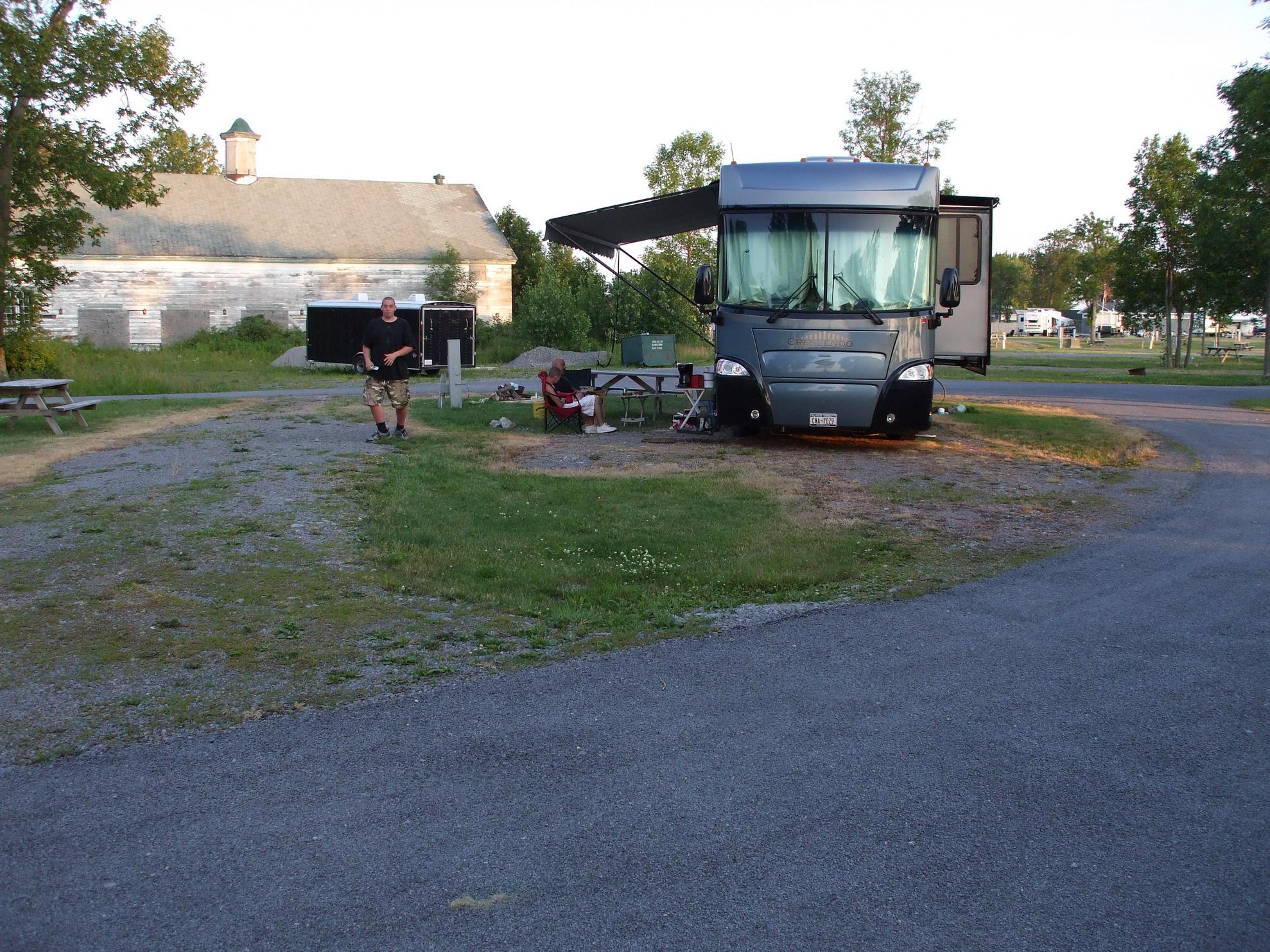 Associated Island RV Resort Lake View Site L28