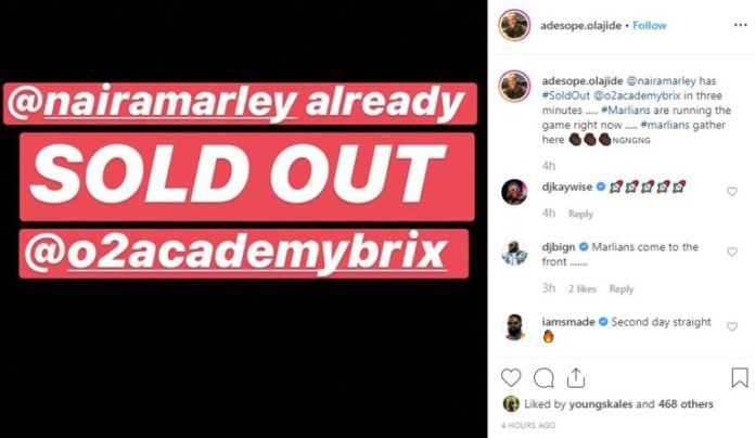 Naira Marley Sells Out 02 Academy Arena For Marlian Fest In Three Minutes