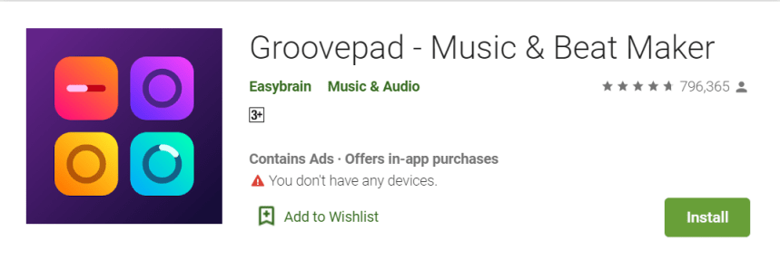 Groovepad for PC