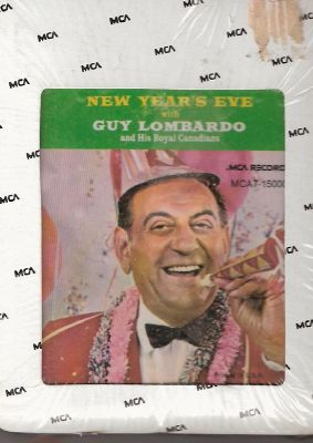 Guy Lombardo New Year's Eve 8-Track Tape