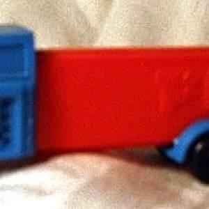"Pez Dispenser ""Red/Blue Truck"""