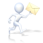 running with mail