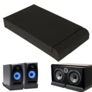 """KING DO WAY Two 5"""" Quality Monitor Isolator Pads"""