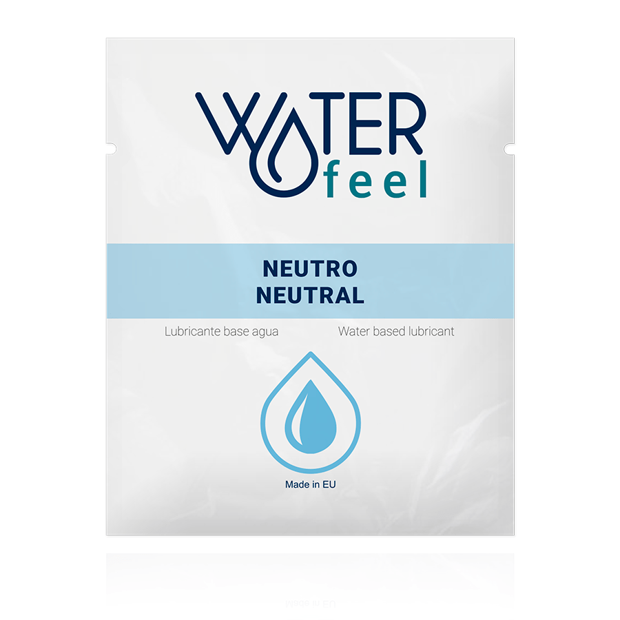 WATERFEEL LUBRICANTE NATURAL 4ML EN IT NL FR DE
